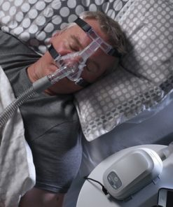 Transcend auto cpap man sleep portrait