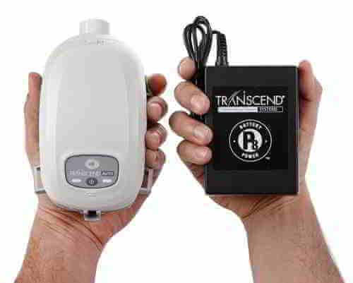 แบตเตอรี่พกพาสำหรับ Transcend Auto CPAP แก้นอนกรน รักษานอนกรน