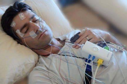 บริการตรวจการนอนหลับที่บ้านแบบละเอียด (Home PSG)