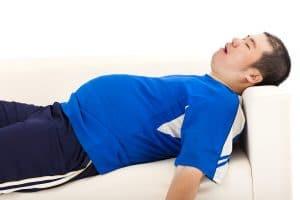 การลดน้ำหนักในคนนอนกรน
