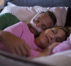 DreamWear Nasal Mask couple sleep