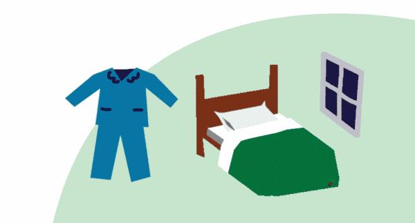 ควรจัดสิ่งแวดล้อมในห้องนอนให้เหมาะแก่การพักผ่อน