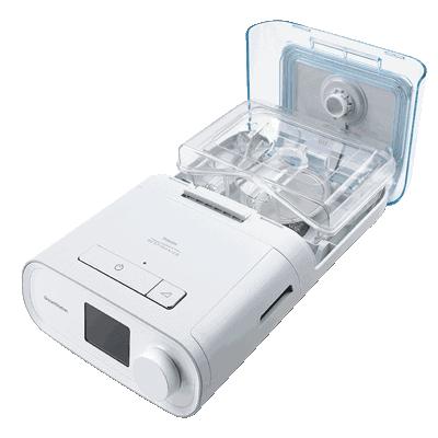 DreamStation CPAP Pro (กึ่งอัตโนมัติ) พร้อมตัวทำความชื้นและท่อร้อน