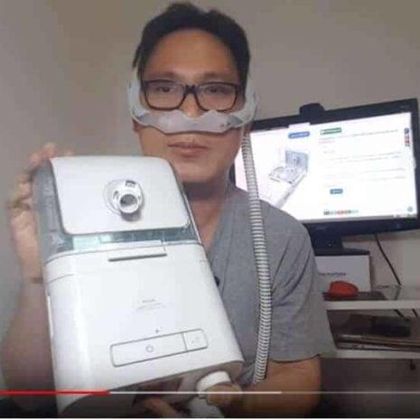 เครื่อง CPAP Philips DreamStation