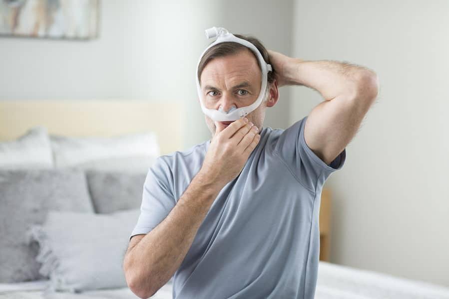 หน้ากาก CPAP แบบสอดจมูก รุ่น DreamWear Gel Pillow Mask