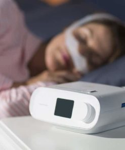 DreamStation Auto CPAP woman sleep