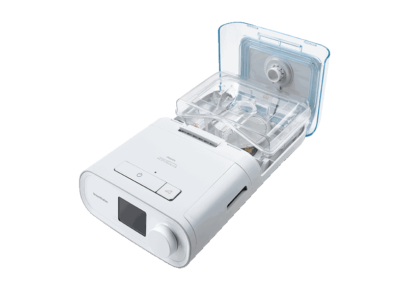 DreamStation CPAP Pro with humidifier