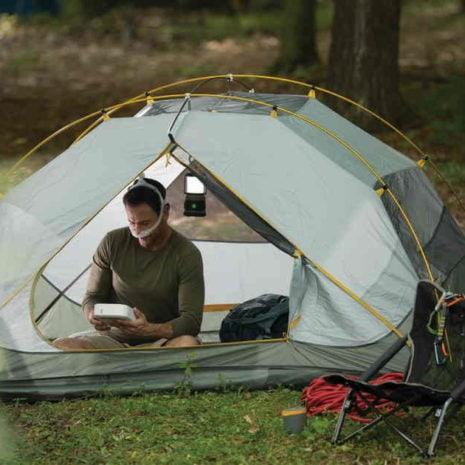 DreamStation Go camping