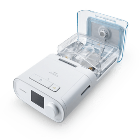 Philips DreamStation Auto BiPAP with Humidifier opened