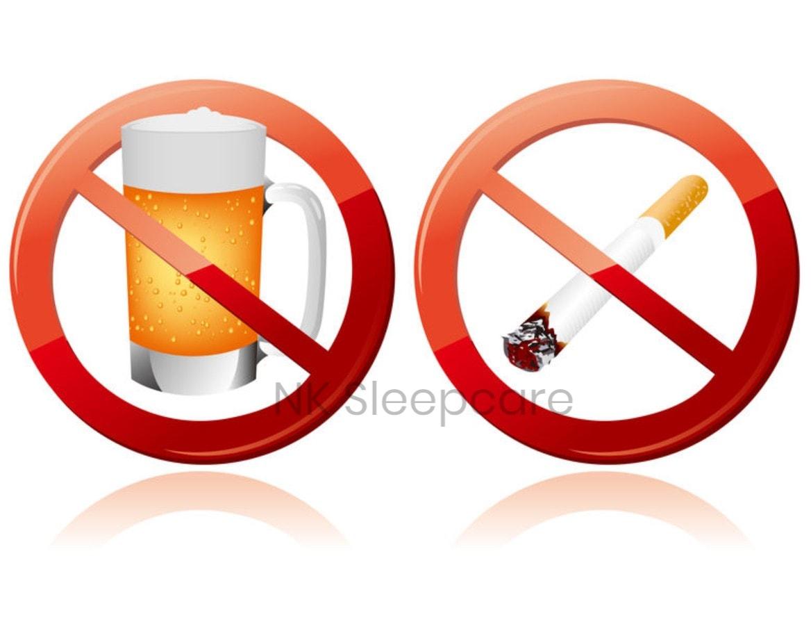 บุหรี่ และเครื่องดื่มแอลกอฮอล์ ไม่ดีต่อสุขภาพ