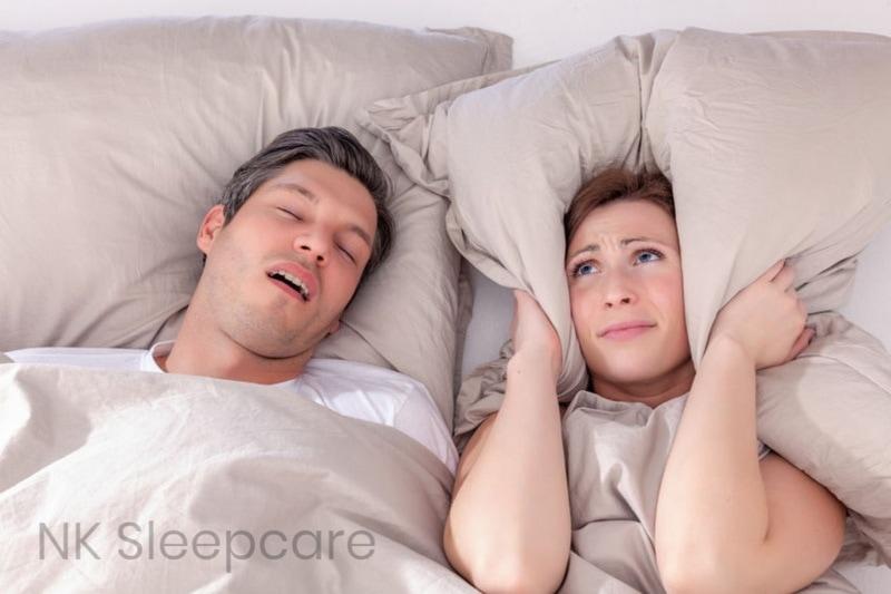 ผู้ชายนอนกรน ทำให้ผู้หญิงนอนไม่หลับ