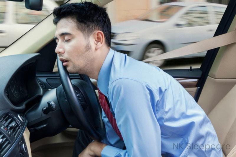 อันตรายจากภาวะหยุดหายใจขณะหลับ ในขณะขับรถ