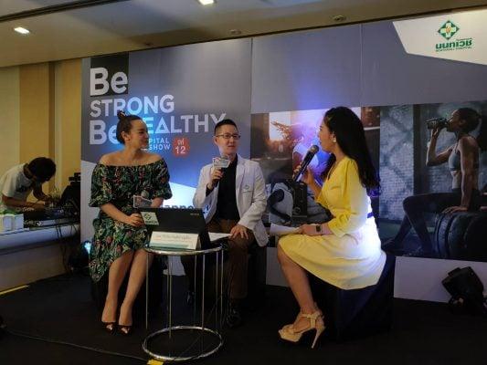 บรรยากาศงาน Be Strong Be Healthy 2019 โรงพยาบาลนนทเวช