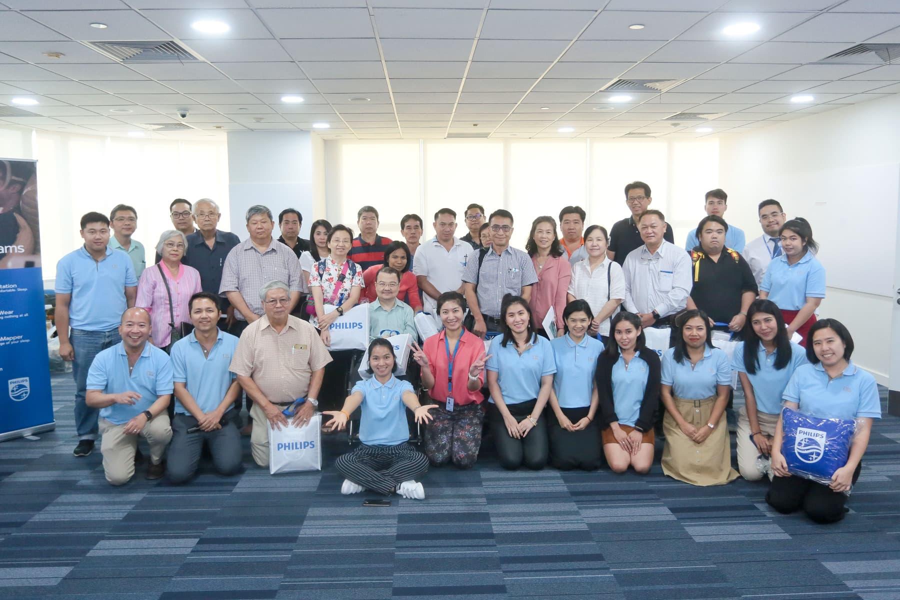 งานอบรมเชิงปฎิบัติการ NK CPAP Workshop Day ครั้งที่ 1