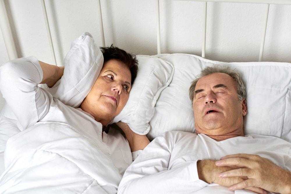 การนอนกรน ปัญหาใหญ่ชีวิตคู่