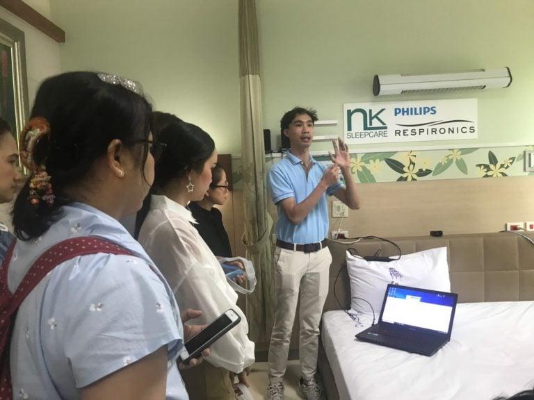"""NK Sleepcare ร่วมทำ CPAP Workshop """"งานอบรมเชิงปฏิบัติการสำหรับเจ้าหน้าที่ตรวจการนอนหลับระดับพื้นฐานครั้งที่ 10"""""""