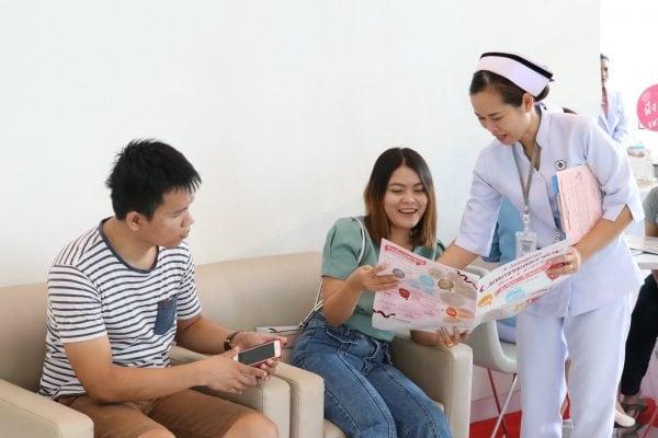 งานมหกรรมลดราคาตรวจสุขภาพ โรงพยาบาลมหาชัย 2