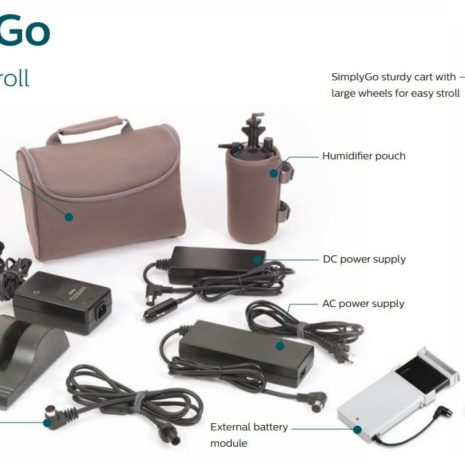 SimplyGo Portable Oxygen Concentrator Package