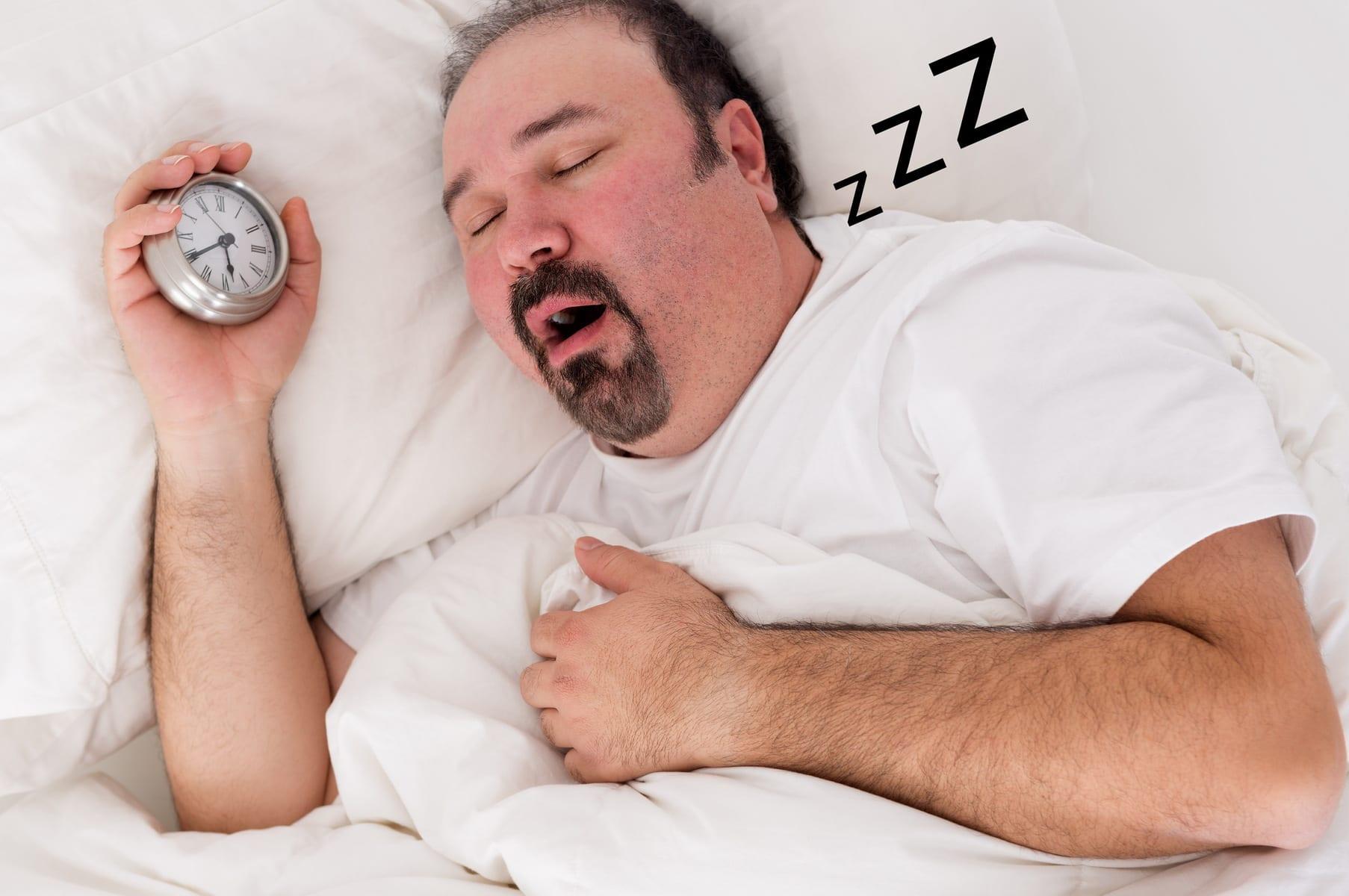 คนอ้วนนอนกรน