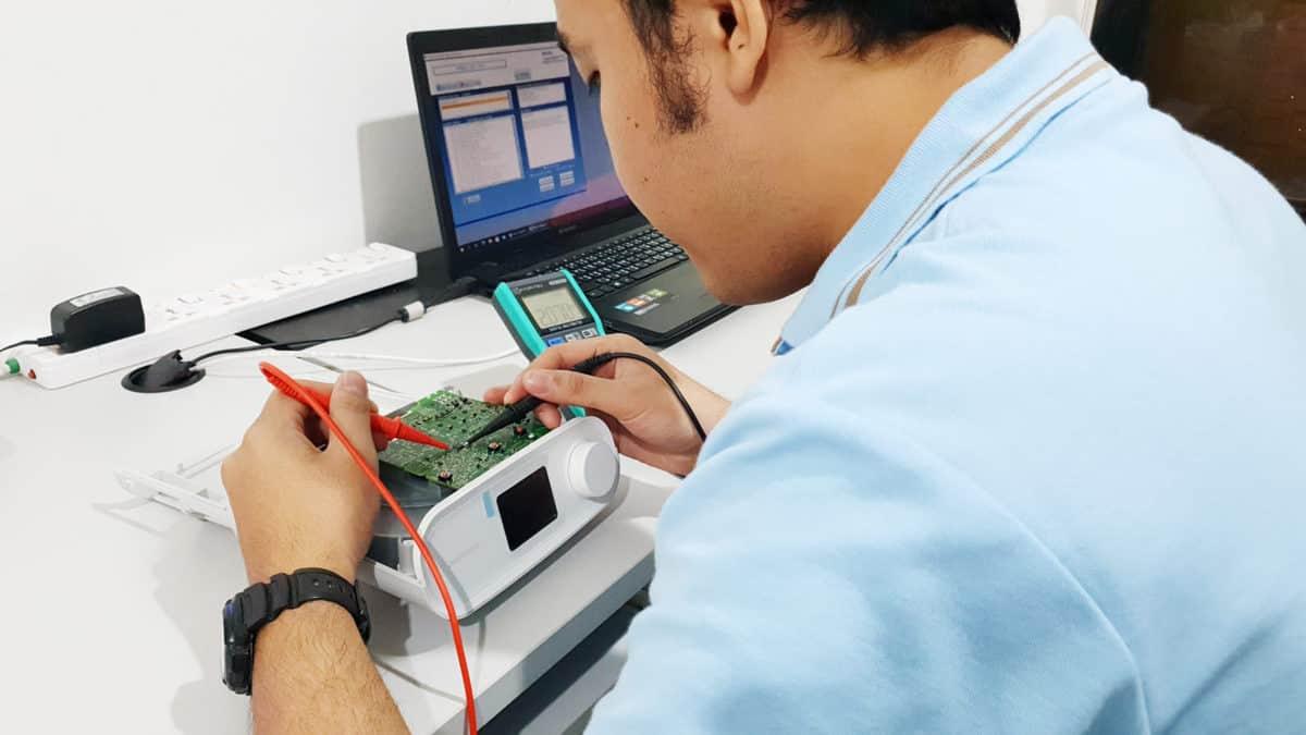 ศูนย์บริการมาตรฐานเครื่อง CPAP Philips
